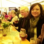 v.l. Johanna Rath (Stadträtin), Frank Christl (stellv. Ortvorsitzender), Karl Heinz Burger (Stadtrat), Jessica Euler (Bürgermeisterin), Brigitte Gans (Stadträtin)