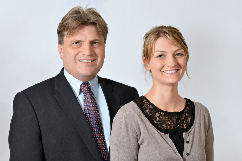 Zwei Landtagsabgeordnete aus dem CSU KV Aschaffenburg-Stadt: Prof. Dr. Winfried Bausback und Judith Gerlach