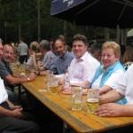 v. l. : Bürgermeister a.D. Günter Dehn, Wilfried Pruss, Gerald Otter, Winfried Bausback, MdL, Gisela Dehn und Stadtrat Thomas Gerlach