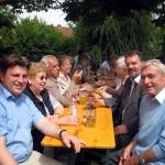 Links: Winfried Bausback, MdL, rechts: Günter Dehn, Bürgermeister a.D.