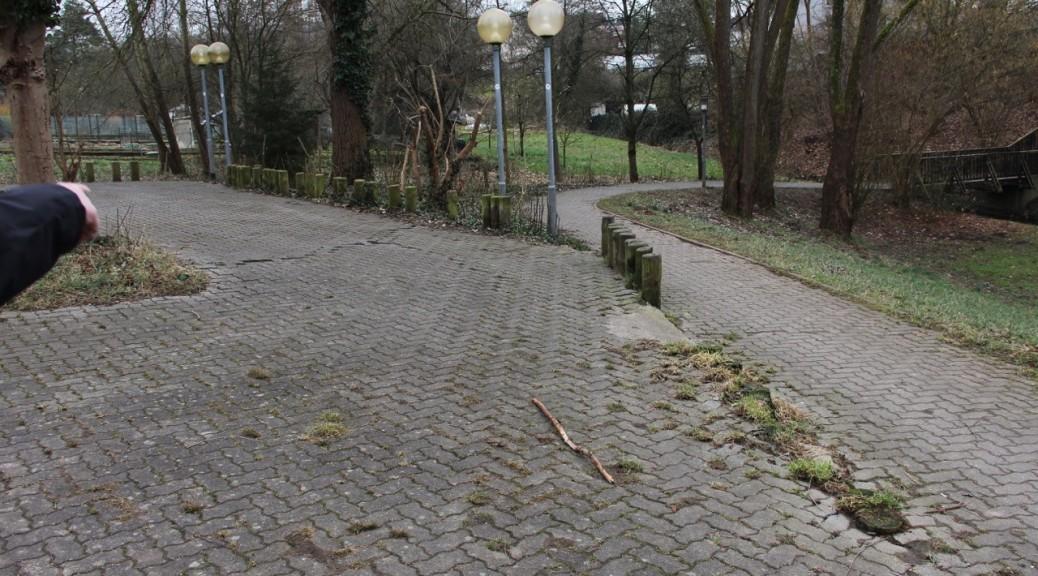 Hensbach/Höhe Tuchbleiche – hier ist Handlungsbedarf