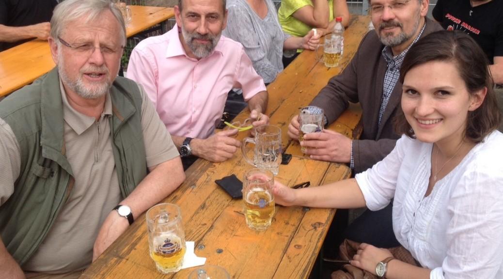 Stadträte Werner Elsässer, Gerald Otter und Thomas Gerlach